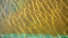 Backgrounds And Textures Sun wind and Reflections on Water Stock Footage
