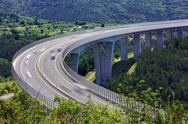 Stock Photo of slovenian highway
