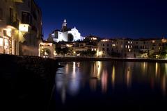 romanticism in the mediterranean - stock photo