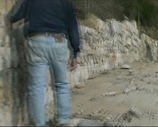 Wall building Stock Footage