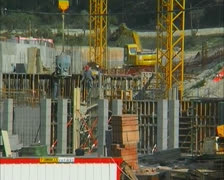 Building site Stock Footage