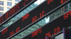Stocks Market HD Stock Footage