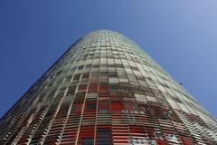 Barcelona, tower Stock Photos