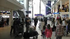 Airport Copenhagen Stock Footage