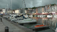 Stock Video Footage of Honfleur 3