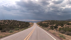 Driving New Mexico - stock footage