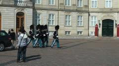 Amalienborg Palace Stock Footage