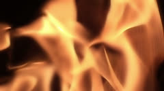 Fire in slow motion (7) - stock footage