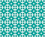 Stock Illustration of cross pattern emerald color