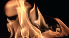 Fire in slow motion (8) - stock footage
