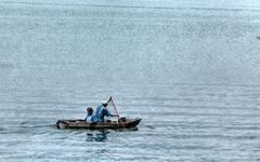 Lake Atitlan, Guatemala - stock photo