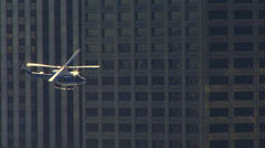 Police Copter - stock footage