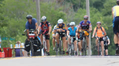 Cycle Race Stock Footage