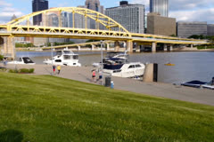 Pittsburgh's North Side NTSC Stock Footage
