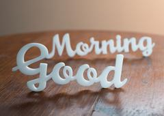 Good Morning - stock photo