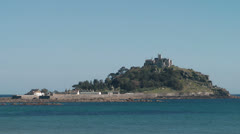 Cornwall, St. Michaels Mount Stock Footage