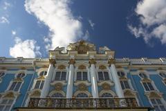 katherine's palace, tzarskoe selo (pushkin), russia - stock photo