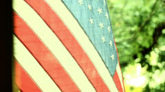 america american prayer pray cross crucifix - stock footage