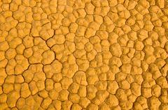 Tekstuuri säröillä maaperän, death valley, california Kuvituskuvat