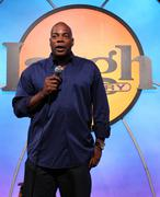 Alonzo bodden.cops 4causes introducing 'comedy uniting community'.held at the Stock Photos