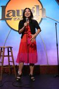 tina kim.cops 4causes introducing 'comedy uniting community'.held at the laug - stock photo