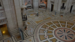 National Pantheon Lisbon inside Stock Footage
