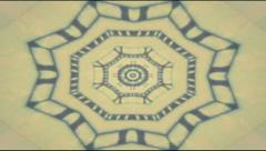 Kaleidoscope vintage 4 Stock Footage
