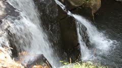 Phu Soi Dao waterfall Stock Footage