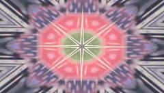 Kaleidoscope vintage 9 Stock Footage