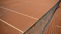Tennis Net Stock Footage