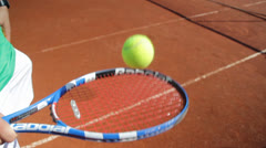 Tennis Racket Stock Footage