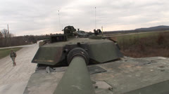 Military, Tank - stock footage