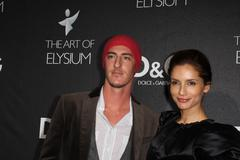"""d&g unveils the flagship on robertson benefiting art of elysium"" - stock photo"