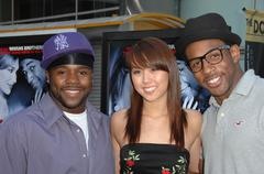 twitch, katee, joshua.premiere of paramount's dance flick .held at the arclig - stock photo