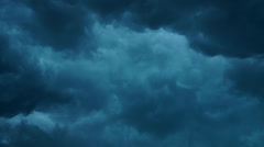 Storm clouds with water drops Stock Footage