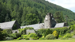 Benmore Botanic Gardens, Scotland Stock Footage