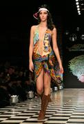 "fashion week la ""ed hardy"" - stock photo"