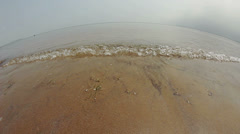 Fisheye Beach Stock Footage