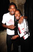 """Swayze and grandmother candace bowen.exclusive.aaron smith aka """"shwayze"""" 24th Stock Photos"""