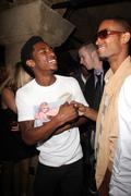 """Swayze and guest.exclusive.aaron smith aka """"shwayze"""" 24th birthday party .hel Stock Photos"""