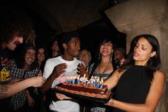 "Swayze.exclusive.aaron smith aka ""shwayze"" 24th birthday party .held at 'tedd Stock Photos"