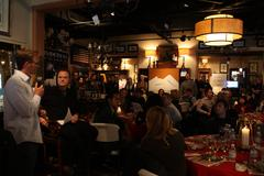 atmosphere.exclusive.sundance film festival.creative coalition luncheon.barcl - stock photo