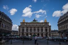 Palais Garnier in Paris (5K) Stock Footage