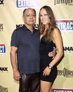 "cheech marin and wife natasha rubin.""extract"" los angeles premiere.held at th - stock photo"