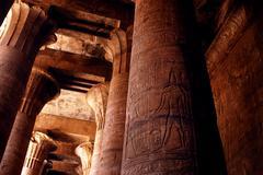 Egypt travel photos - edfu Stock Photos