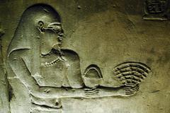 egypt travel photos - edfu - stock photo