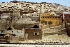 egypt travel photos - landscape - stock photo