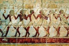 egypt travel photos - luxor - stock photo