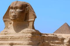 The great sphinx of giza, egypt Stock Photos