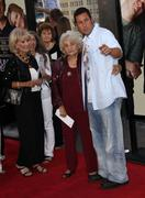 """adam sandler and granny.""""funny people"""" los angeles premiere.held at the arcli - stock photo"""